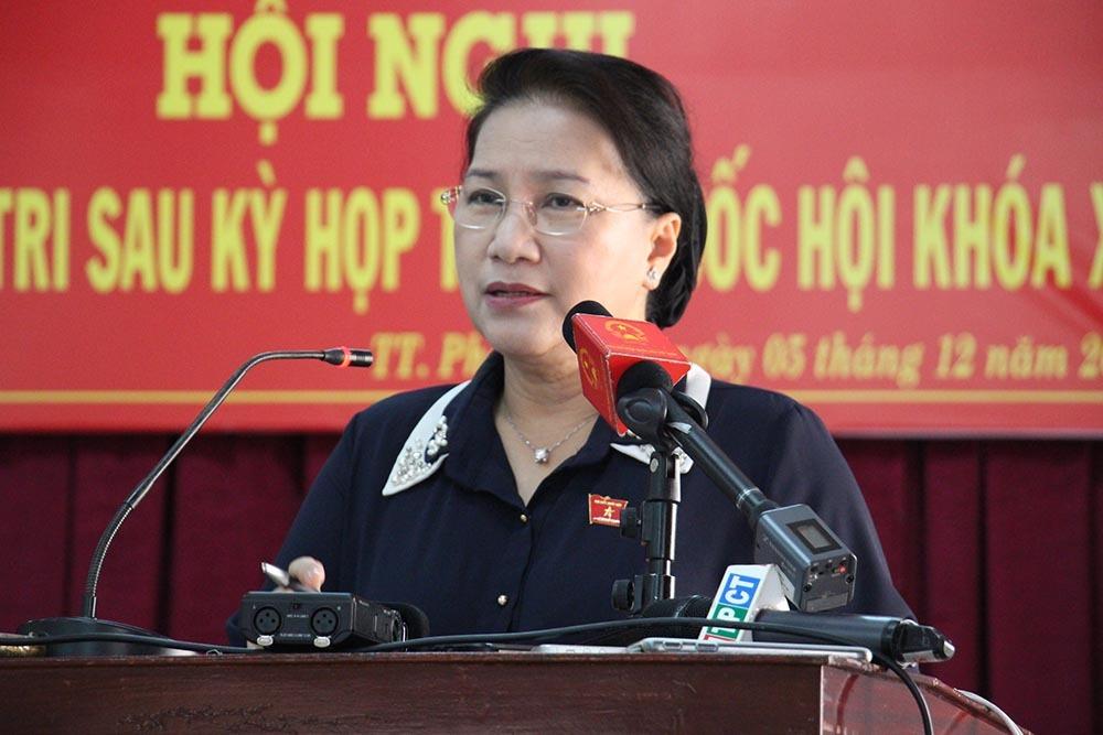 Chủ tịch QH,Nguyễn Thị Kim Ngân,BOT Cai Lậy