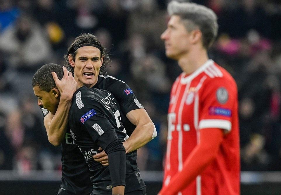 Neymar vô duyên, PSG thua tan nát trước Bayern