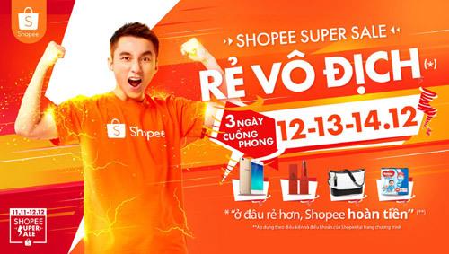 Shopee Super Sale: 120.000 mặt hàng 'rẻ vô địch' - ảnh 1