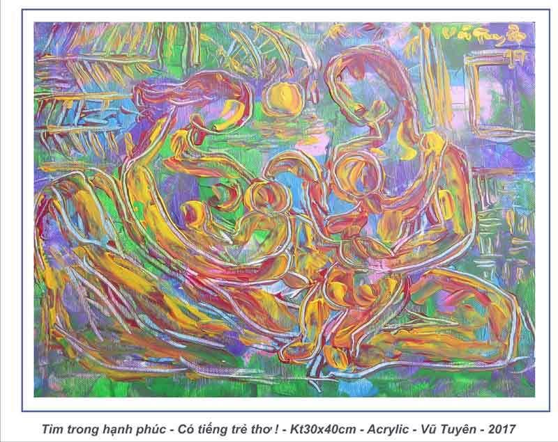 Họa sĩ Vũ Tuyên: Còn sống, còn vẽ, còn đi 'Tìm'