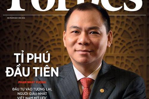 Phạm Nhật Vượng,Nguyễn Thị Phương Thảo,Trịnh Văn Quyết,Vingroup,VietJet,tỷ phú Việt,đại gia Việt,tỷ phú USD