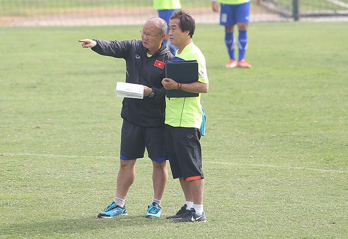U23 Việt Nam,HLV Park Hang Seo,HLV Miura