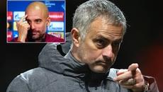 """Mourinho """"lật mặt"""" Pep trước đại chiến MU vs Man City"""
