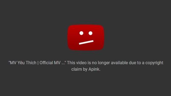 MV của Thu Thủy bị Youtube gỡ bỏ vì đạo nhái?