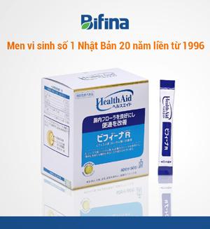Viêm đại tràng,viêm đại tràng mạn tính,men vi sinh nhật bản,men vi sinh Nhật Bản Bifina,men vi sinh Bifina