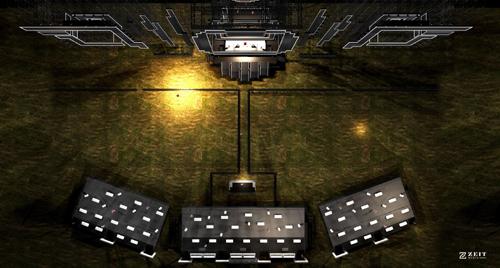 Sân khấu khổng lồ của đêm nhạc Armin van Buuren by VinaPhone
