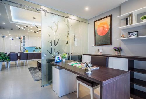 Mãn nhãn căn hộ mẫu T&T Riverview - ảnh 2