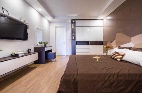 Mãn nhãn căn hộ mẫu T&T Riverview - ảnh 3
