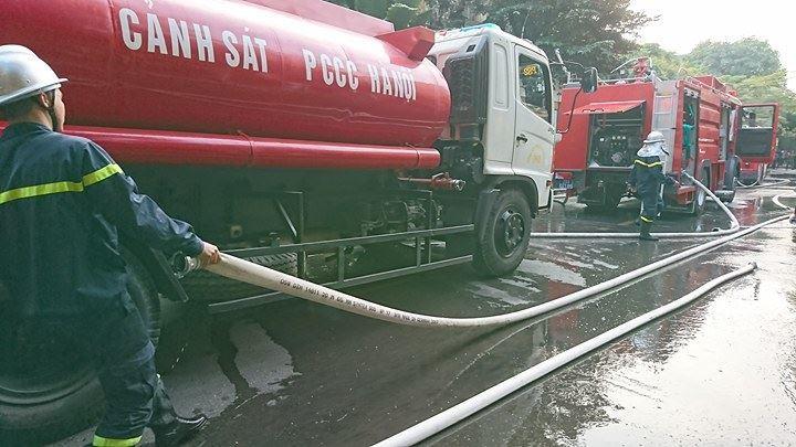 cháy ở Hà Nội,cháy,quận Ba Đình