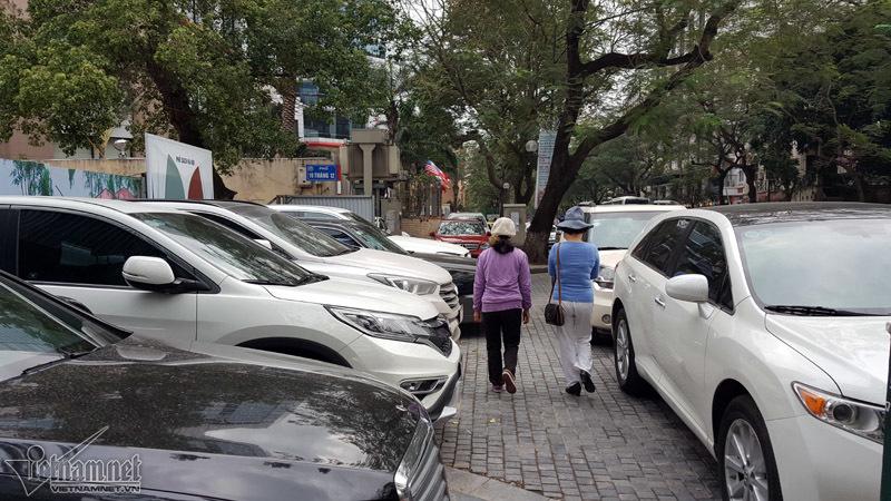 Hà Nội,tăng phí,vỉa hè,Uông Ngọc Dậu