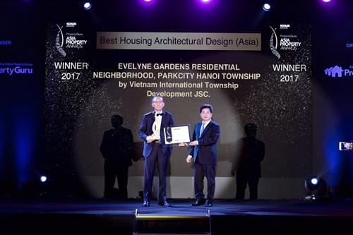 ParkCity Hanoi được vinh danh tại Giải thưởng BĐS châu Á 2017