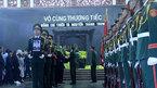 Phút tiễn biệt phi công tử nạn ở Anh về đất mẹ