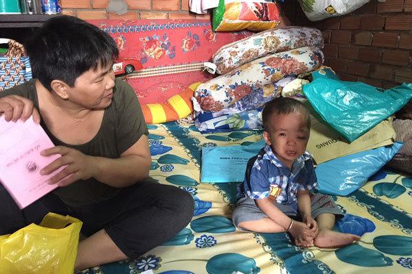 Hoàn cảnh khó khăn,u não,từ thiện,từ thiện vietnamnet