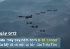'Quái vật ném bom' của Mỹ gầm rú sát Triều Tiên