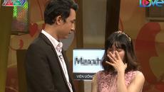 Vợ chồng 'tố' nhau trên truyền hình khiến MC Hồng Vân bối rối