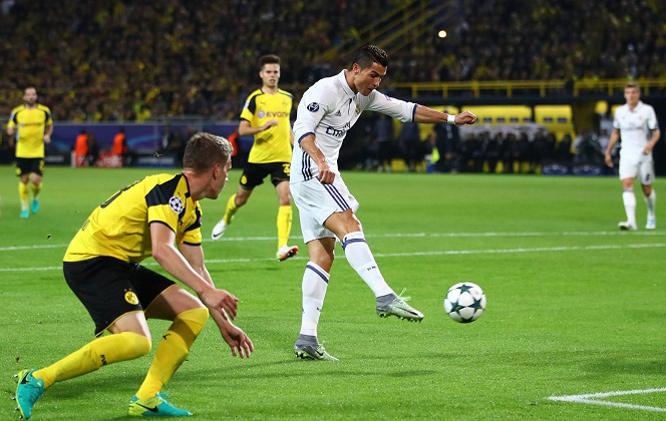 Real Madrid,Dortmund,Vòng bảng cup C1