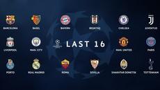 Xác định 16 đội giành vé vòng knock-out Champions League