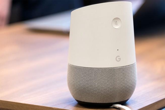 Trẻ biết nói nhờ trí tuệ nhân tạo Google Home