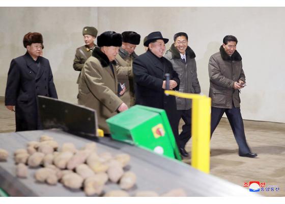 Kim Jong Un,tên lửa,Triều Tiên,thị sát