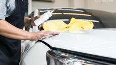 Tuyệt chiêu bảo vệ sơn xe ô tô màu trắng