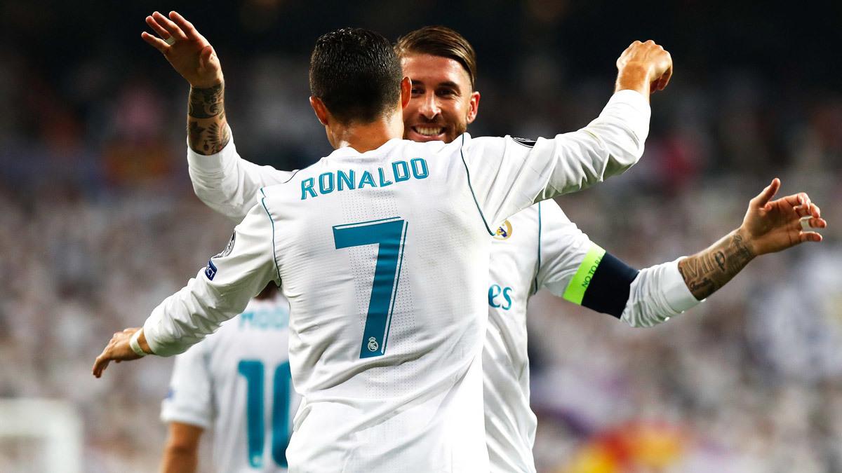 MU,Real Madrid,Sergio Ramos,Ronaldo,Barca