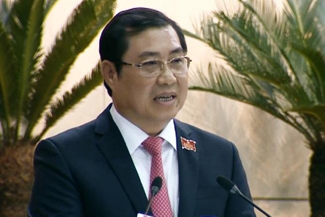 Bán đảo Sơn Trà,thanh tra,Chủ tịch Đà Nẵng,Huỳnh Đức Thơ