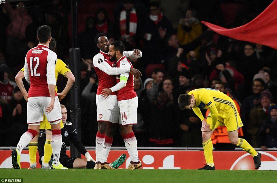 Arsenal,BATE,Europa League,Kết quả bóng đá hôm nay,Wenger