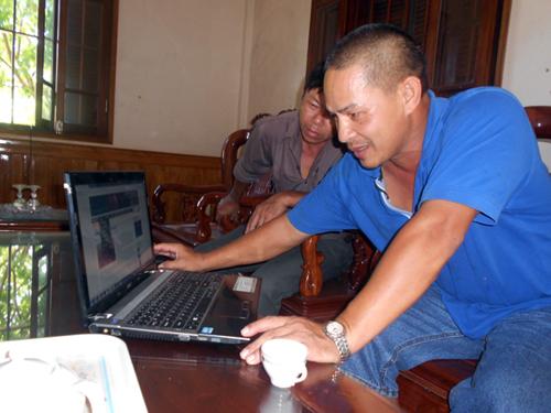Internet - trợ thủ sản xuất đắc lực của nông dân Việt Nam