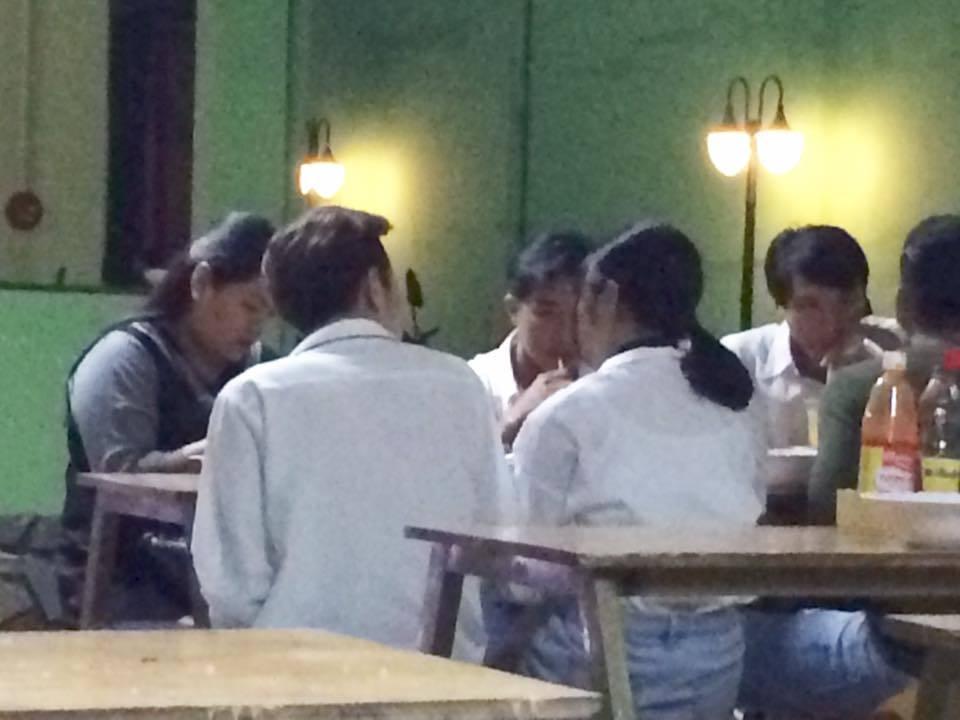 Lộ ảnh Phí Ngọc Hưng đi ăn cùng cô gái giữ bí mật cái kết trong 'Vì yêu mà đến'