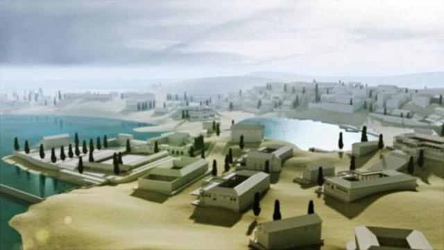 Tìm thấy thành phố cổ 1700 năm tuổi của tầng lớp siêu giàu thời La Mã