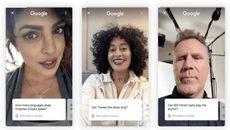 """Tính năng mới cho phép các """"sao"""" selfie trả lời câu hỏi tìm kiếm trên Google"""