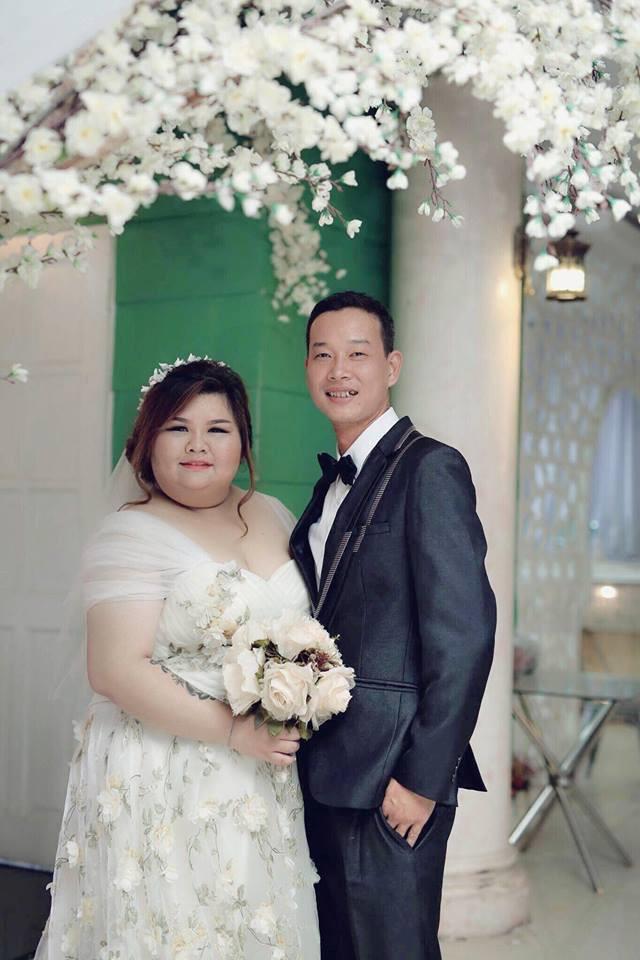 9X được chồng chiều chuộng, tăng 30 kg sau một năm kết hôn