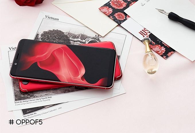 Oppo F5,smartphone