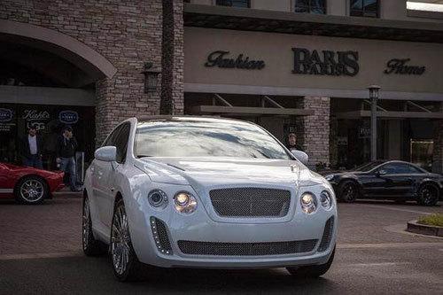 Toyota Venza mang phong cách xe siêu sang Bentley