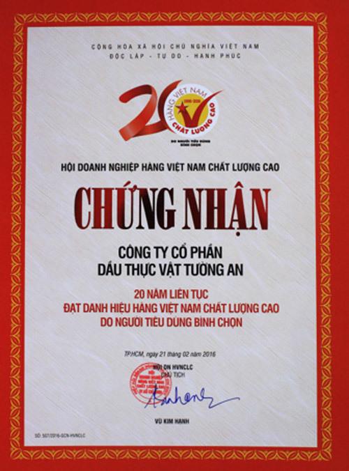 Dấu ấn Tường An 40 năm sát cánh cùng gian bếp Việt