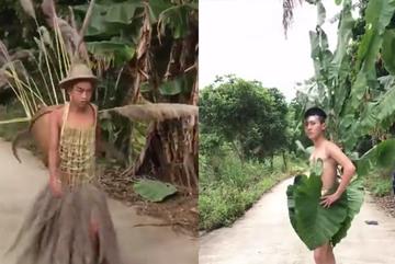 Màn biểu diễn thời trang siêu kinh điển trên... đường làng