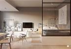 Mẫu thiết kế căn hộ ấm cúng, tận dụng tối đa không gian nhỏ