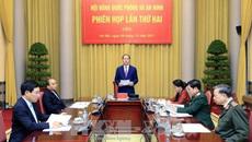 Chủ tịch nước chủ trì phiên họp Hội đồng Quốc phòng và An ninh