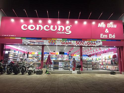 1 năm, hệ thống Con Cưng mở thêm 130 siêu thị