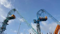 Tháo dỡ 2 cẩu tháp 'khủng' gãy gục trên dự án Panorama Nha Trang0