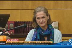 Ngã hỏng ngực giả, vợ cựu thị trưởng được bồi thường 2 tỷ