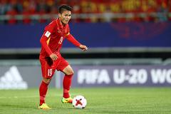 Hai siêu phẩm của Quang Hải xé lưới U23 Myanmar