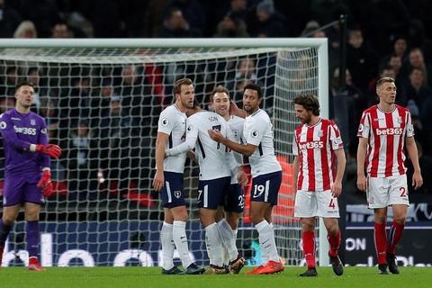 Tottenham 5-1 Stoke