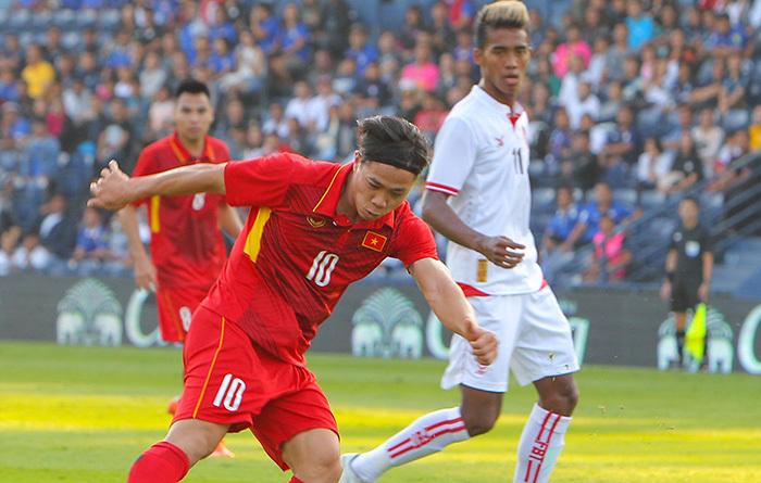 U23 Việt Nam,HLV Lê Thuỵ Hải,HLV Park Hang Seo,Công Phượng
