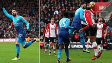 Giroud bừng sáng, Arsenal thoát thua phút chót