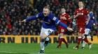 Rooney lập công, Everton buộc Liverpool phải cưa điểm