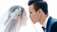 Ảnh cưới đẹp lung linh của Quế Ngọc Hải và vợ hoa khôi