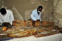 Ai Cập phát hiện xác ướp cùng hiện vật bên trong ngôi mộ cổ 3500 năm tuổi