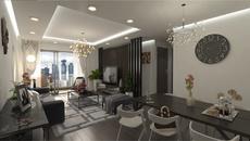 Căn hộ Eco Dream nổi bật với nội thất cao cấp0