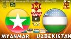 Xem trực tiếp U23 Myanmar vs U23 Uzbekistan